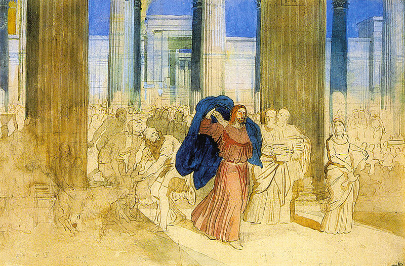 Cleansing of the Temple, Jerusalem Temple, John 2:13-22, Temple, Lent, Lent 3B, Business As Usual