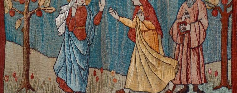 Luke 1:39-56, Sermon, Advent 4C, Advent, Hospitality, Impossible, Estrangement, Stranger, Sermon, Mary, Elizabeth, Visitation of Mary