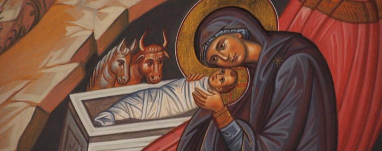 Christmas Proclamation, Nativity of Jesus, Christmas, Nativity Icon