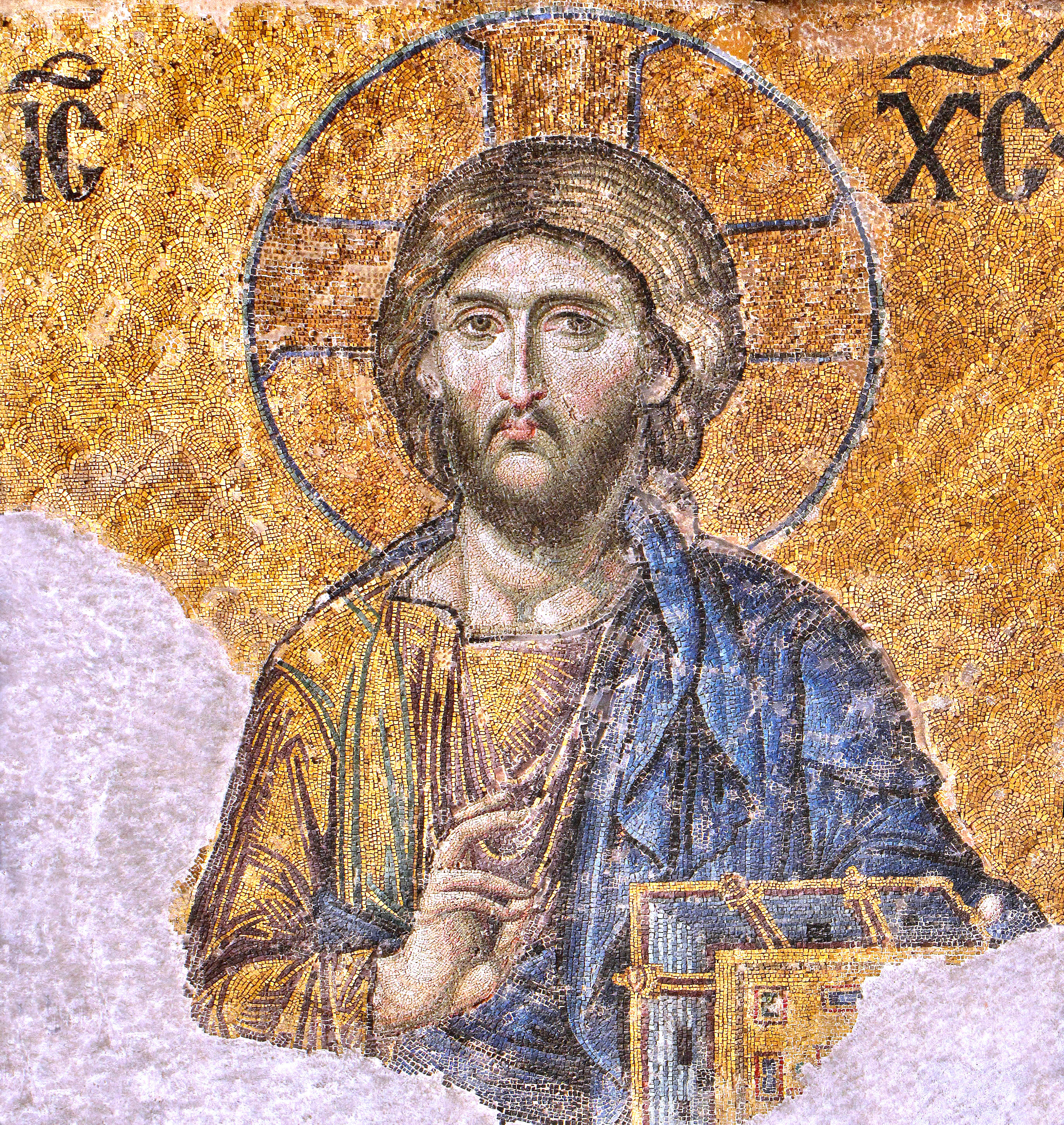 Christ, Pantocrator, Epiphany Proclamation of Easter