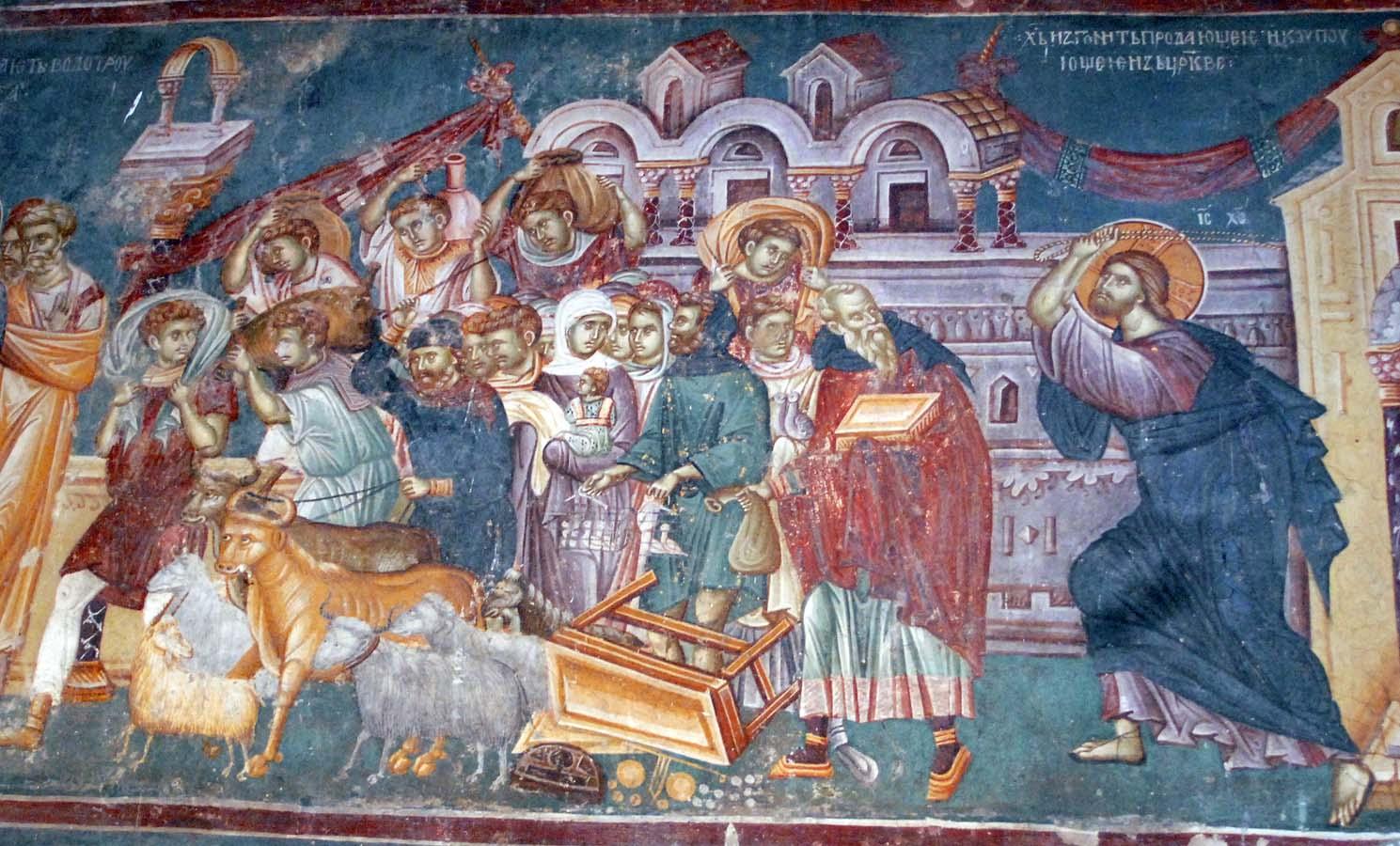 Sermon, Lent, Lent 3B, John 2:13-22, Cleanising the Temple, Dvid Whyte